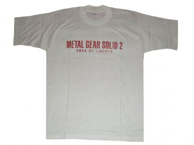 metal gear solid anime t-shirt