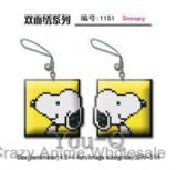 1151 snoopy cross-stich