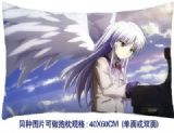angel beats anime cushion