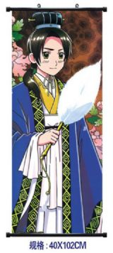 Hetalia Axis Powers anime wallscroll