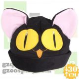 cafe anime plush cap