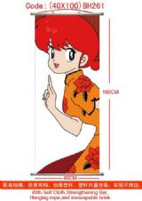 ranma anime wallscroll