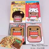 Domo Kun Sticker (price for 5 pcs)