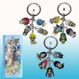 magical girl anime keychain