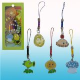 plants vs zombies anime phonestrap