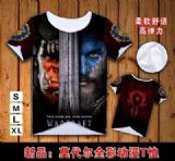 warcraft anime t-shirt
