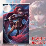 RWBY anime wallscroll