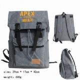 Apex Legends Canvas Backpack bag satchel