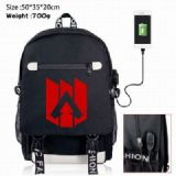 Apex Legends Canvas Data line Backpack Bag