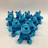 Monsters University a set of 10 plush Toy doll car