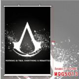 Assassin Creed White Plastic rod Cloth painting Wa