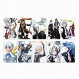 D.Gray-man Card stickers