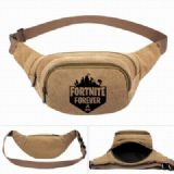 Fortnite Leisure outdoor sports Canvas purse pocke