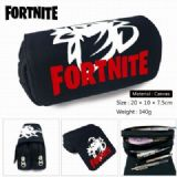 Fortnite Canvas Multifunction Double layer Zipper