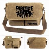 Fortnite Canvas Shoulder Satchel Bag Handbag