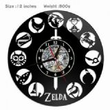 The Legend of Zelda Creative painting wall clocks