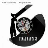 Final Fantasy Creative painting wall clocks and cl