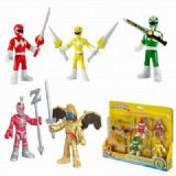Power Rangers a set of 5 Boxed Figure Decoration 6