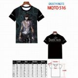 Death note Full color printed short sleeve t-shirt