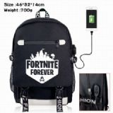 Fortnite Canvas Data line Backpack Bag