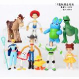 Toy Story a set of 11 Bagged Figure Decoration Mod