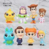 Toy Story a set of eight Bagged Figure Decoration