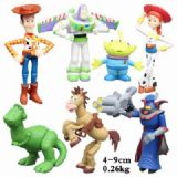 Toy Story a set of seven Bagged Figure Decoration