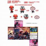 The Avengers Spider house Doll deformed egg a set