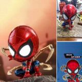 The avengers allianc Spider-Man Glowing head Boxed