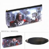 The Avengers Thor Zipper PU pencil case Pencil Bag