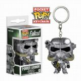 Fallout 4 POP Armor Keychain pendant Boxed Figure