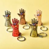 The Avengers Iron Man gloves a set of five Keychai