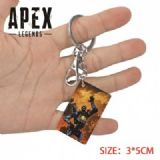Apex Legends-24 Anime Acrylic Color Map Keychain P