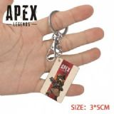 Apex Legends-4 Anime Acrylic Color Map Keychain Pe