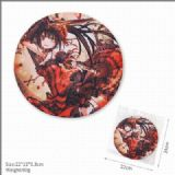 Date a live Nightmare Round Non-slip Mouse pad 22C