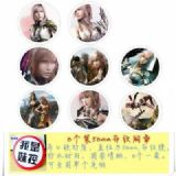 Final Fantasy Brooch Price For 8 Pcs A Set 58MM