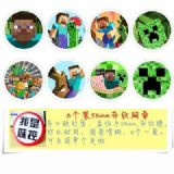 Minecraft Brooch Price For 8 Pcs A Set 58MM