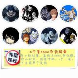 Death Note Brooch Price For 8 Pcs A Set 58MM