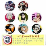 Soul Eater Brooch Price For 8 Pcs A Set 58MM