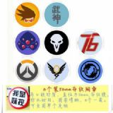 Overwatch Brooch Price For 8 Pcs A Set 58MM