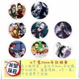 Rozen Maiden Brooch Price For 8 Pcs A Set 58MM