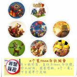 Clash of Clans Brooch Price For 8 Pcs A Set 58MM
