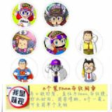 Arale Brooch Price For 8 Pcs A Set 58MM