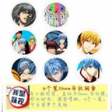 Kuroko no Basketball Brooch Price For 8 Pcs A Set