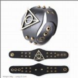 Harry Potter Metal leather bracelet