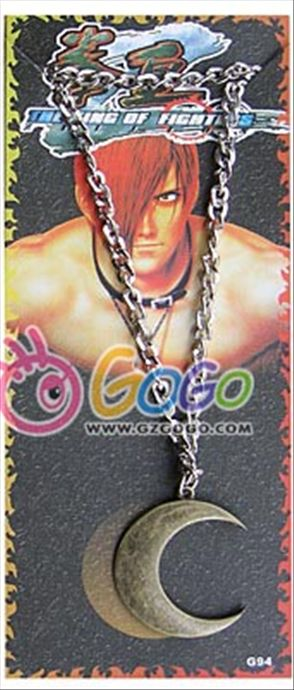 King of Fighter anime necklace