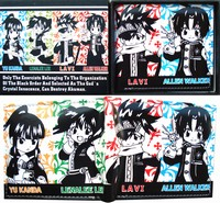 D.Gray-man anime wallet