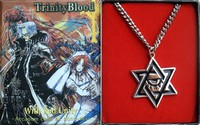 Trinity Blood anime necklace