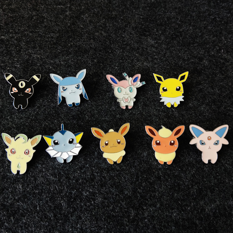 pokemon anime pin badge