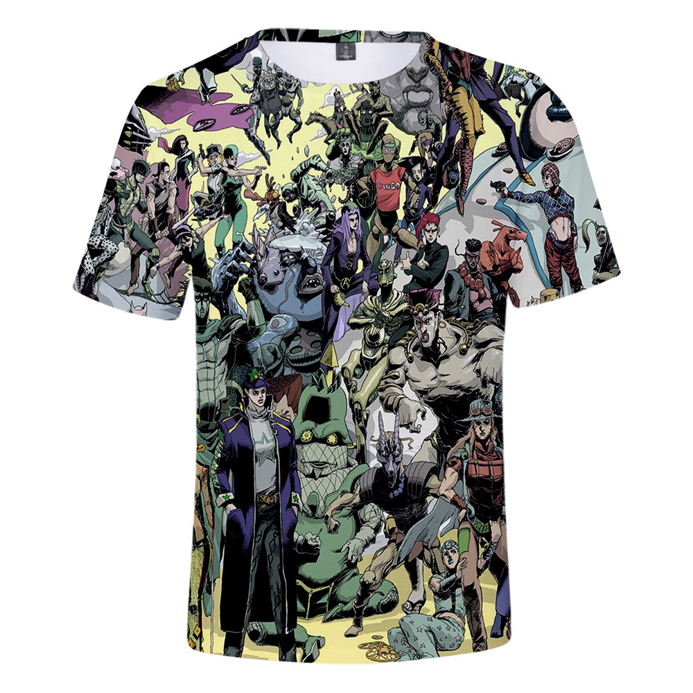 JoJos Bizarre Adventure anime tshirt 2xs to 4xl